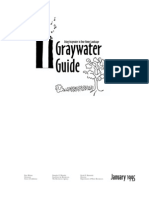 Gray water Manual, Los Angeles California
