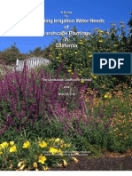 Guide to Estimating Irrigation Water Needs of Landscape Plantings, Los Angeles California