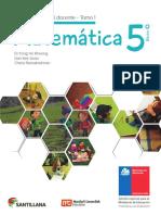 Matemática 5º Básico-Guía Didáctica Del Docente Tomo1