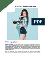 Profil, Biodata, Dan Data Lengkap HyunA