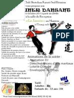 Affiche Diner Dansant 13 Octobre 2017