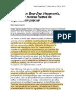 Gramsci y Bourdieu