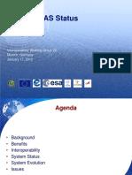 Global SBAS Status Brief Upd-JAN2012