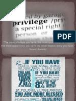 Privilege Week 1 PPT