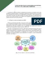 La Intensificación de Procesos e Ingenieria de Sistema de Proceso Una Amigable Simbiosis