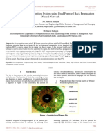 An LBP based Iris Recognition System using Feed Forward Back Propagation Neural Network