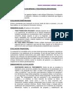 Evaluación en Hipnosis y Psicoterapia Eriksoniana-nathaly Feijoo
