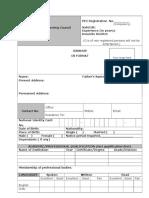 CV Format.doc