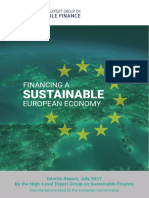 EC - Financing a Sustainable European Economy - July 2017