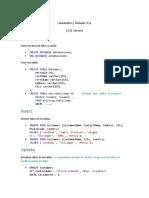 Comandos y Sintaxis SQL