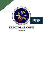 COMELEC Electoral Code 2010