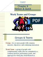 OB-58-OB Ch09-Work Teams and Groups