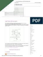 Circuit Schematic Electronics_ Light Flasher (Blinking Lights)