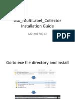 Gui MultiLabel Collector Installation Guide