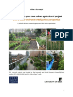 Tornaghi How to Set Up Your Own Urban Agricultural Project 2014