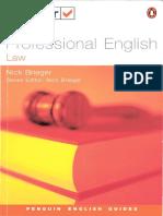 Professional English Law