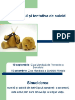Suicidul Profilaxie