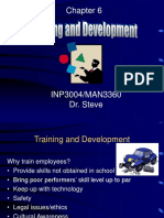 OB 56 Chapter 06_INP3004 Training and Development