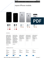 iPhone Models Compare