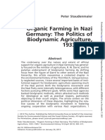 Organic Farming in Nazi Germany - Biodynamics