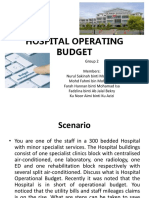 PPD Hospital Operating Budget