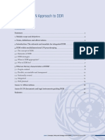 Iddrs 2.10 the Un Approach to Ddr1