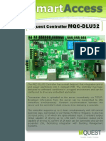 Access Control Door Controller DLU32
