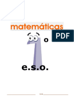 Libro Texto Matematicas 1 Eso