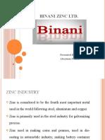 Binani Zinc Ltd