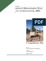 Community Development Plan 2001
