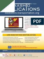 AASHTO Publications Catalog - 2017, Volume 2 (Spring)