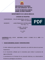 DOLOR ABDOMINAL AGUDO Y CRONICO EN EL NIÑO Y EL ADOLESCENTE..pptx