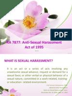 Sexual Harrasment Law