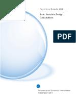 Basic Aeration Design Calculations
