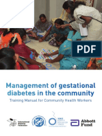 Gestational Diabetes Mellitus Training Manual by diabetesasia.org