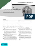 Dresser Roots Tri-nado Tm 1125 Dvj Tri-lobe Blower - Manual (2)
