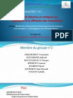 Exposé Groupe 2 ESAC Théorie Et Critique