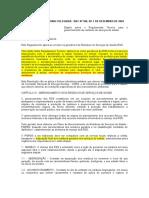RDC nº 306 de 07-12-2004
