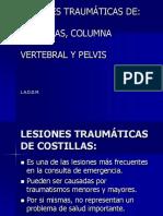 LESIONESS TRAUMÁTICAS de Columna,Pelvis y Costillas