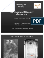 The History and Philosophy of Astronomy Lecture 20