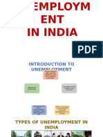254149274 Unemployment in India Ppt