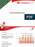 Prevención Radiación Solar
