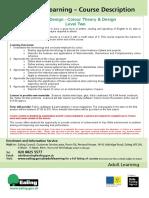 Interior Design - Colour Theory and Design L2