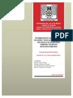 Determinación de AAS en Cafiaspirina (R) por método espectrofotométrico
