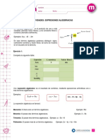 expresiones algebraicas 1