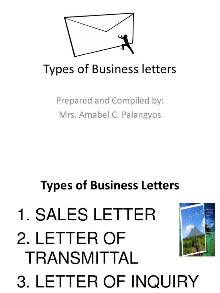 Types Of Business Letters Ppt Press Release News