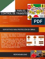 Dispositivos Para El Control de Tránsito