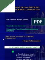 Creacion de Valor a Partir Del Gobierno Corporativo (1)