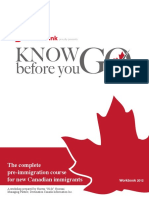 Know Before You Go Work Book