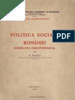Tasca G Politica Muncitoreasca Romania